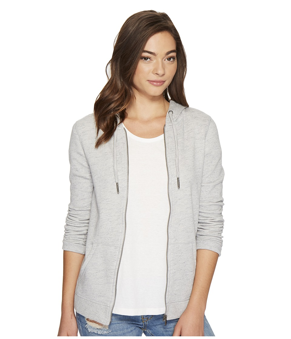 Roxy Trippin Zip Hoodie (Heritage Heather) Women