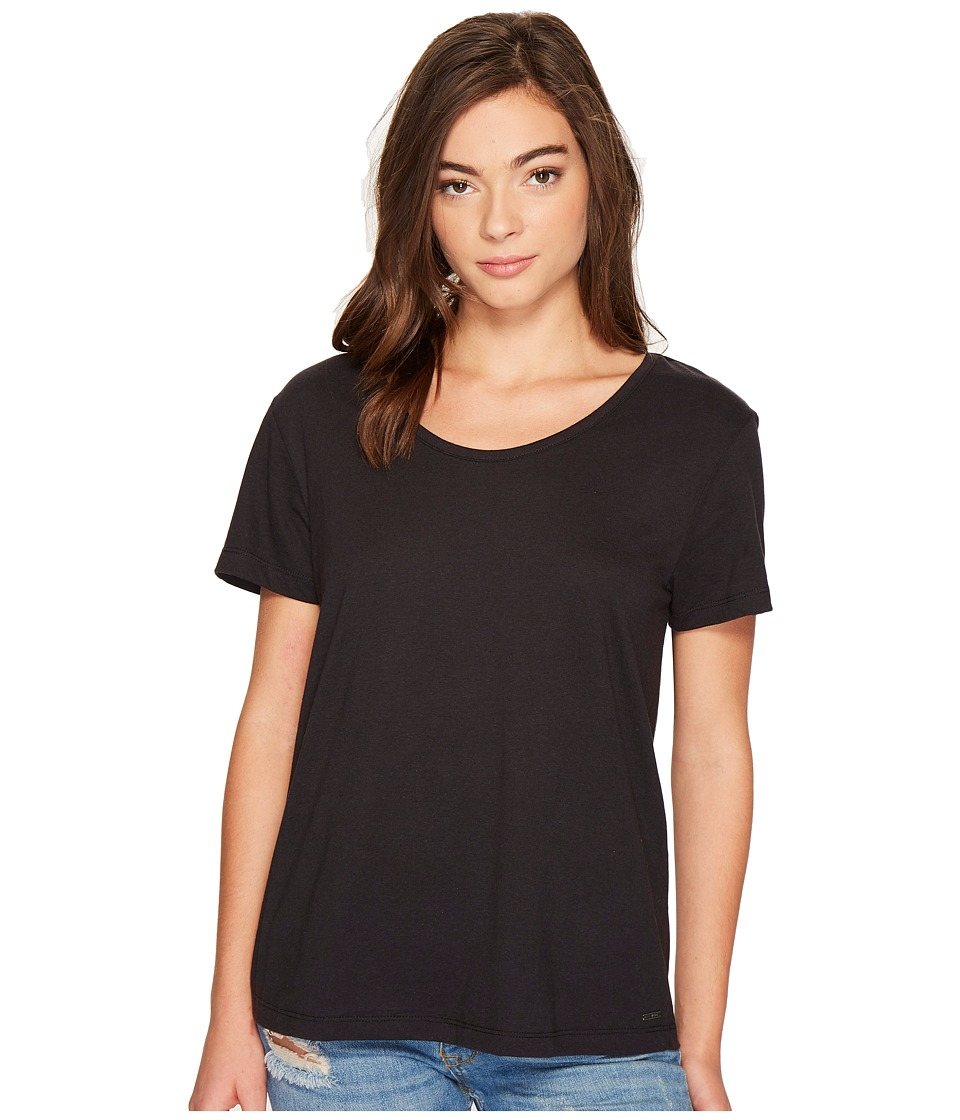 Roxy Just Simple Solid Tee (Anthracite) Women