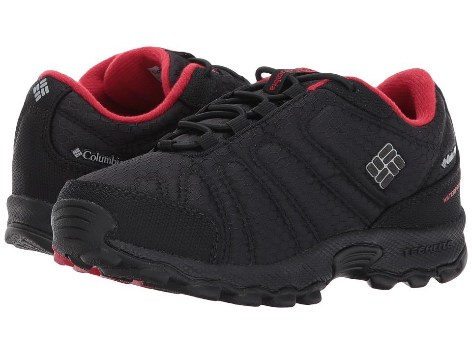 Columbia Kids Firecamp Sledder II Waterproof (Little Kid/Big Kid) (Black/Steam) Boy's Shoes