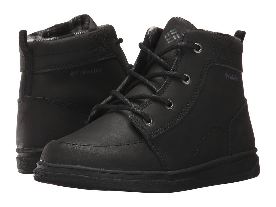 Columbia Kids Nash Peak (Little Kid/Big Kid) (Black/Grahpite) Boys Shoes