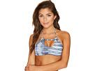 Roxy - Strappy Love Printed Crop Bikini Top