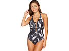 Roxy Strappy Love Printed One-Piece Swimsuit
