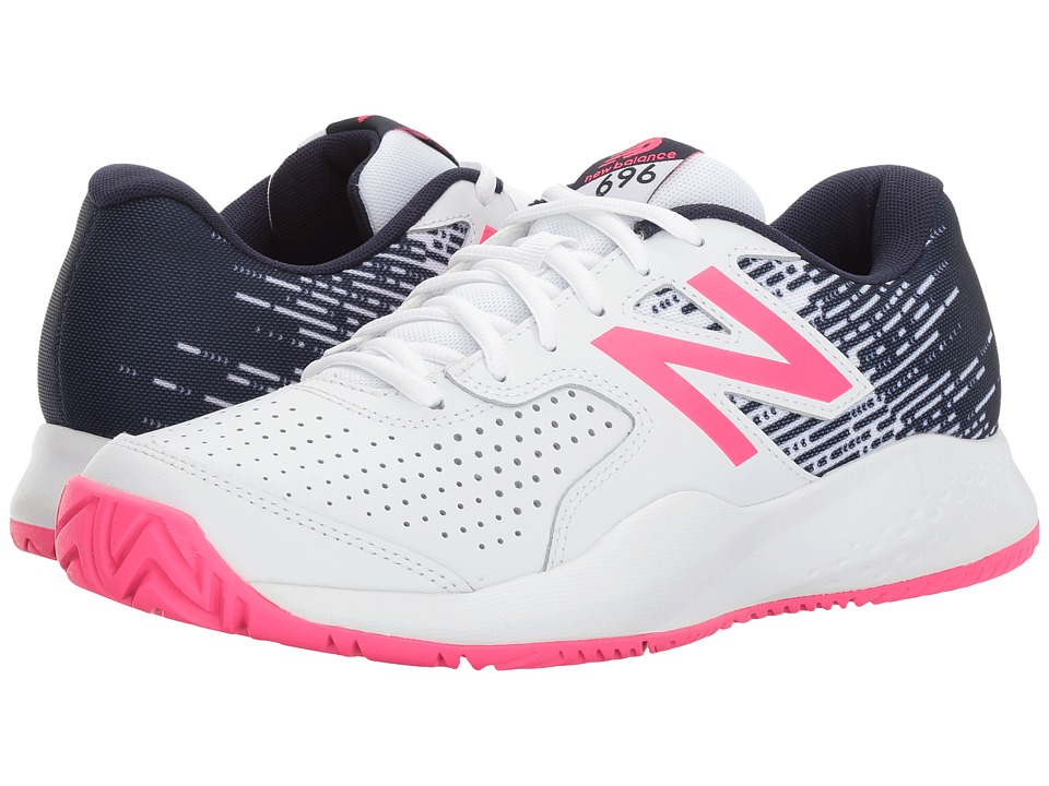 New Balance 696v3 (White/Alpha Pink) Women