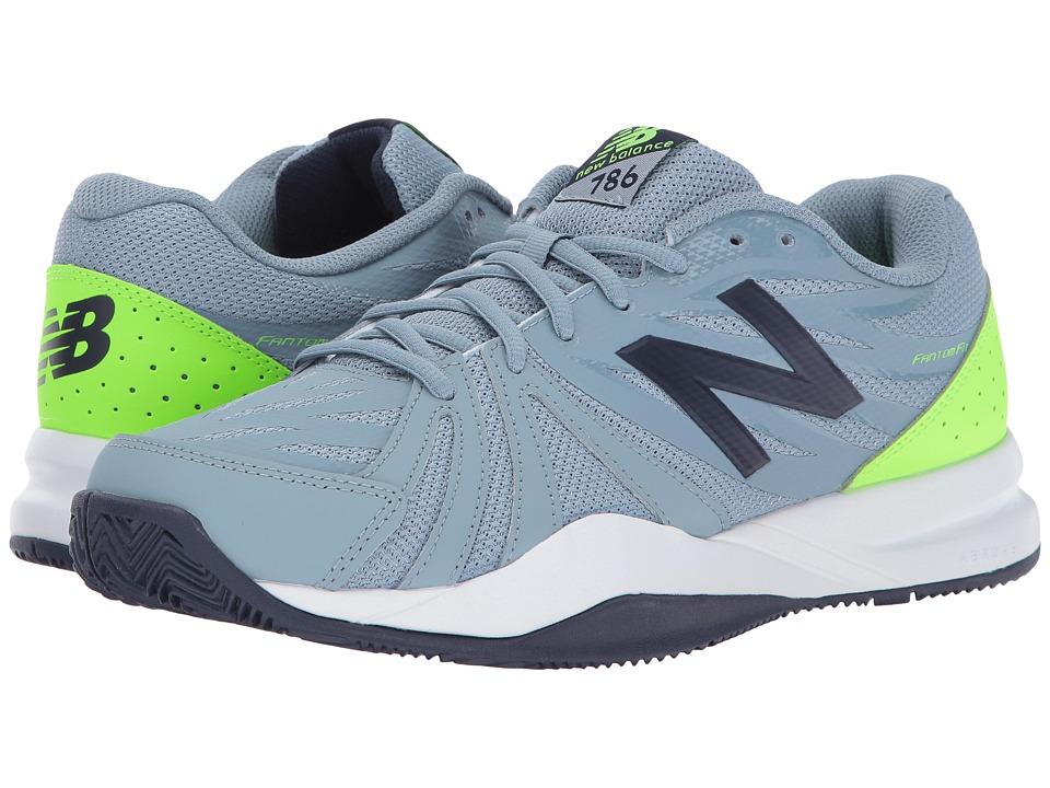 New Balance MC786v2 (Grey/Energy Lime) Men