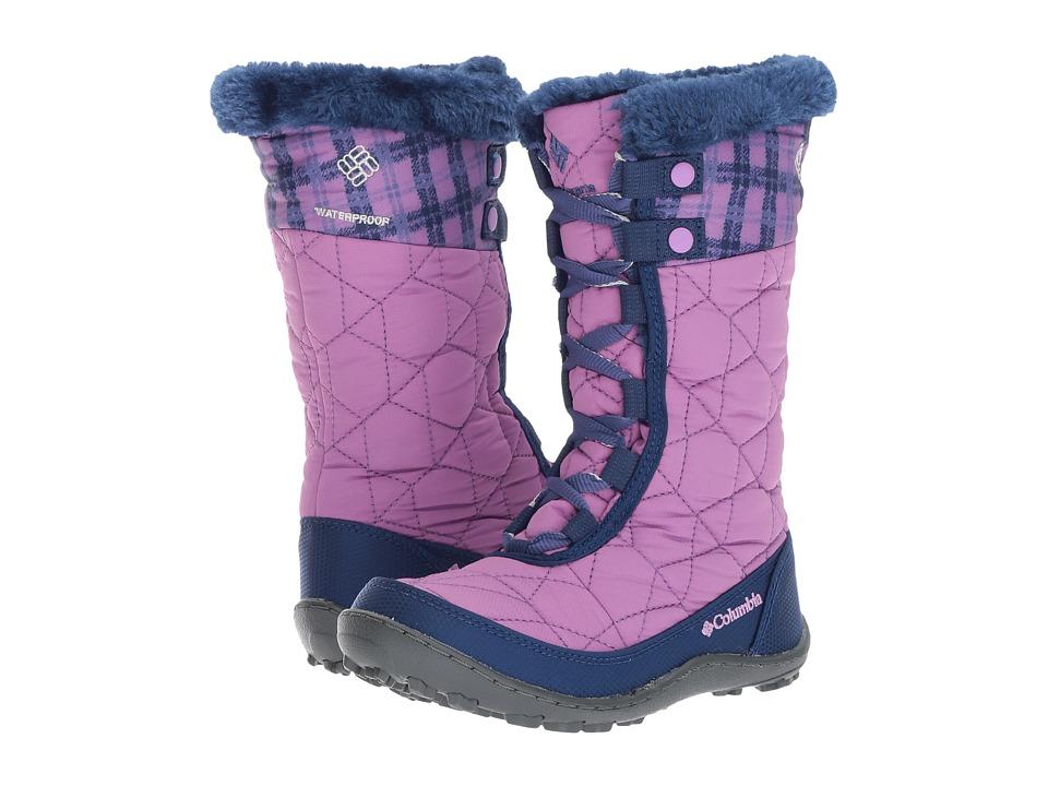 Columbia Kids Minxtm Mid II Waterproof Omni-Heattm Print Boot (Little Kid/Big Kid) (Norethern Lights/Fawn) Girls Shoes