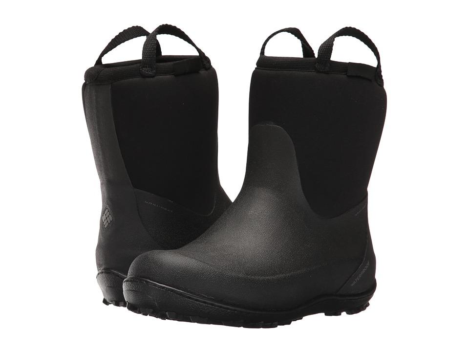 Columbia Kids Snowpow (Little Kid/Big Kid) (Black/Charcoal) Kids Shoes