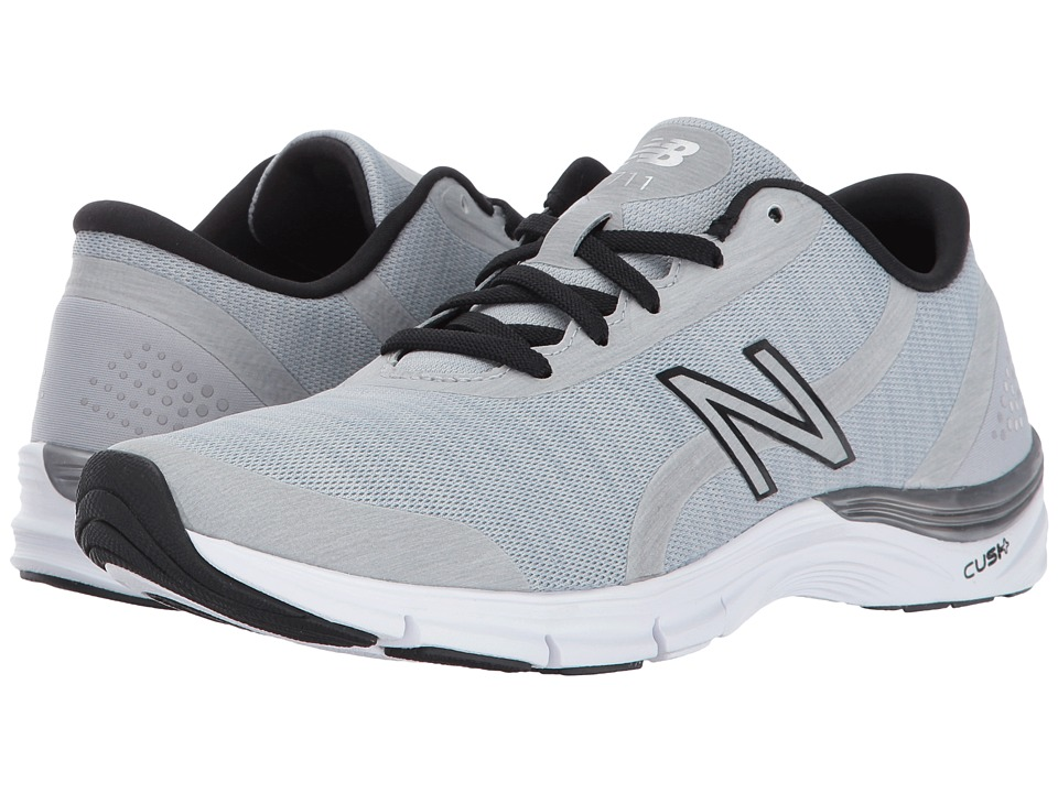 New Balance - WX711 (Steel/Black) Womens Shoes