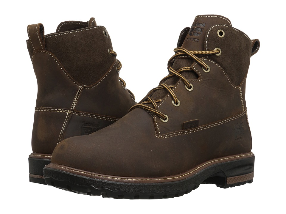 Timberland PRO - Hightower 6 Alloy Safety Toe Waterproof (Kaffe Full Grain Leather) Womens Work Lace-up Boots