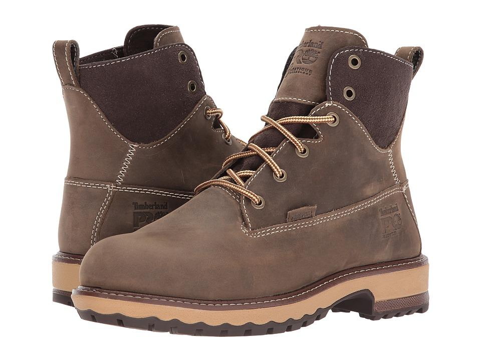 Timberland PRO Hightower 6 Alloy Safety Toe Waterproof (Turkish Coffee Full Grain Leather) Women