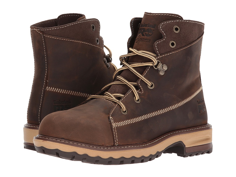 Timberland PRO - Hightower 6 Alloy Safety Toe (Kaffe Full Grain Leather) Womens Work Lace-up Boots