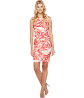 Calvin Klein - Blurred Floral Starburst Sheath Dress