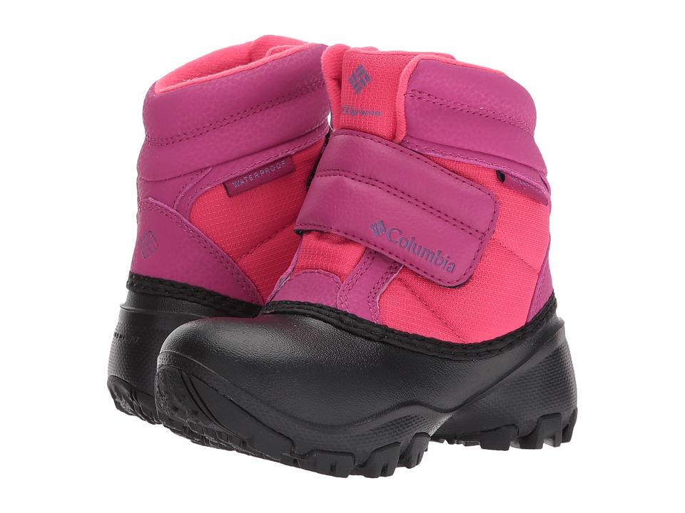 Columbia Kids Rope Tow Kruser (Toddler/Little Kid) (Punch Pink/Deep Blush) Girls Shoes