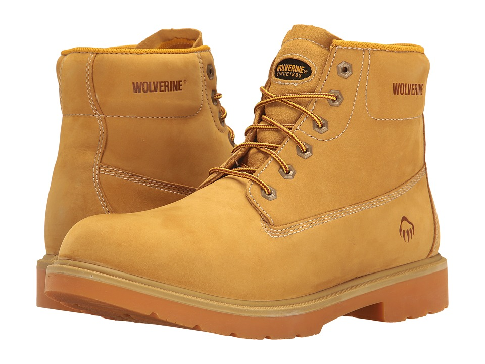 Wolverine Polk 6 Waterproof Boot (Wheat) Men