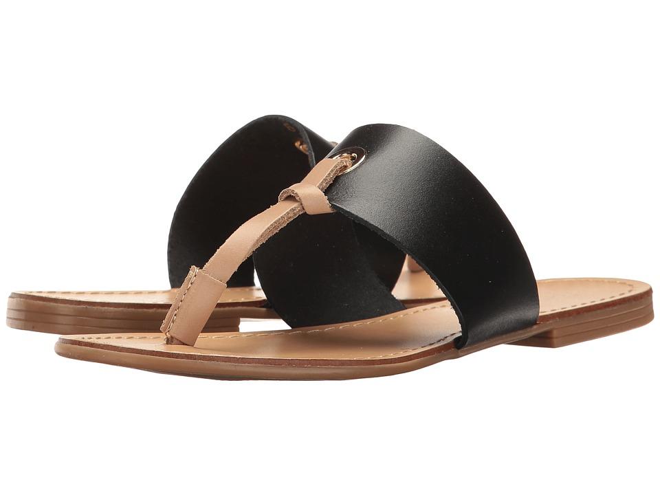 Massimo Matteo Thong 17 (Black) Sandals