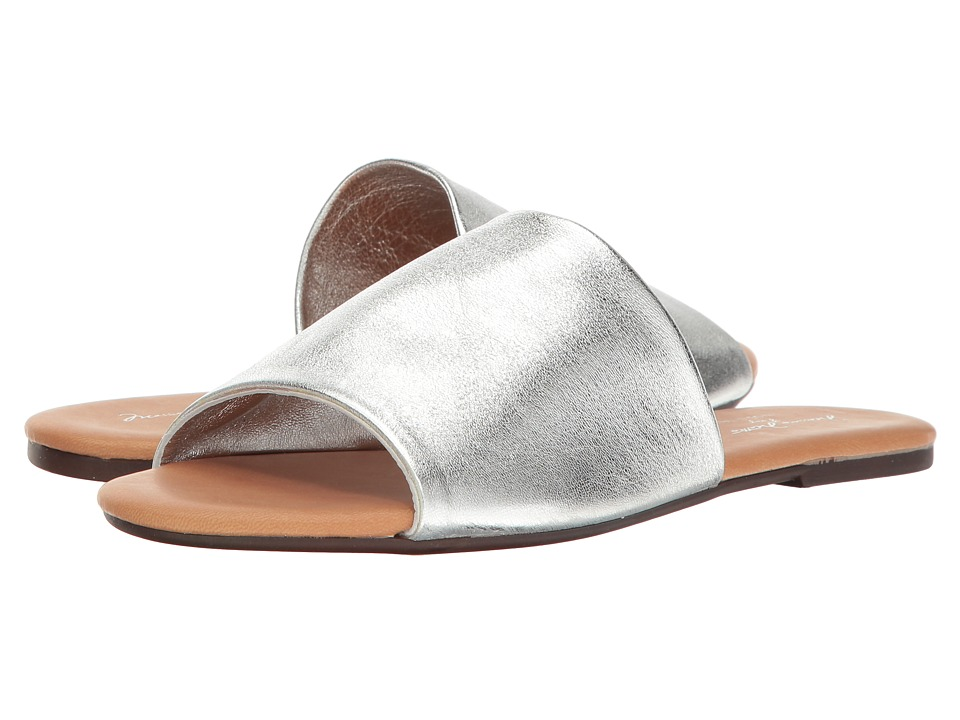 Massimo Matteo Metallic Slide (Silver) Slides