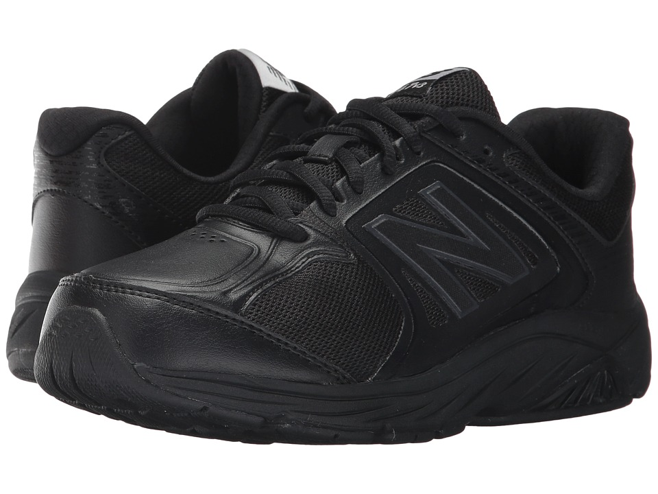 New Balance WW847v3 (Black/Black) Walking Shoes