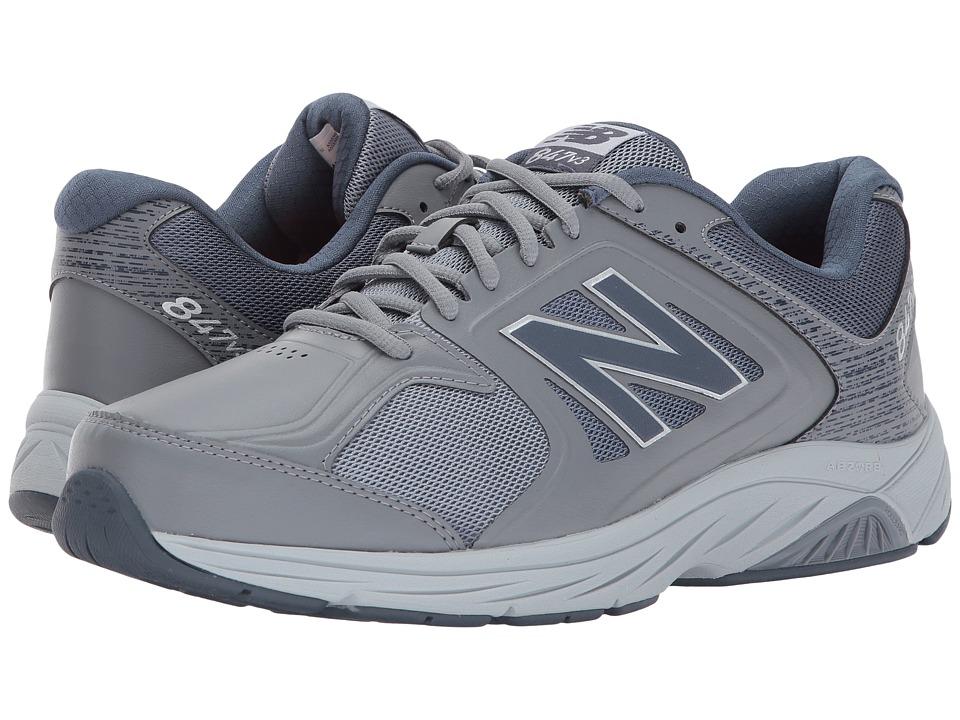 New Balance MW847v3 (Grey/Grey) Men's Walking Shoes