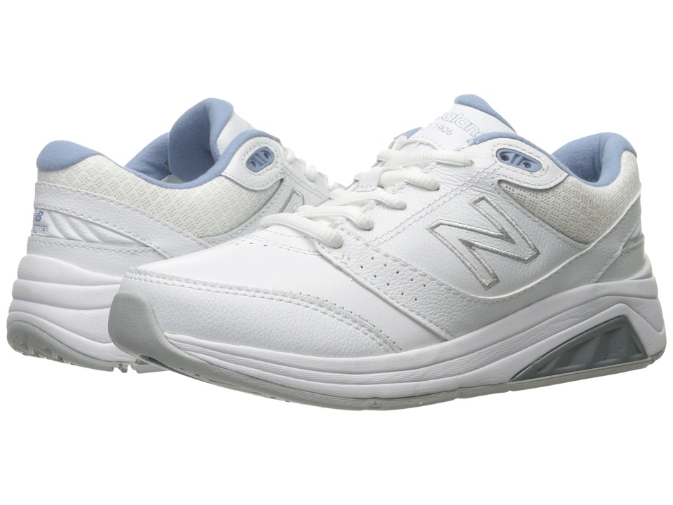 New Balance WW928GR3 (White/Blue) Walking Shoes