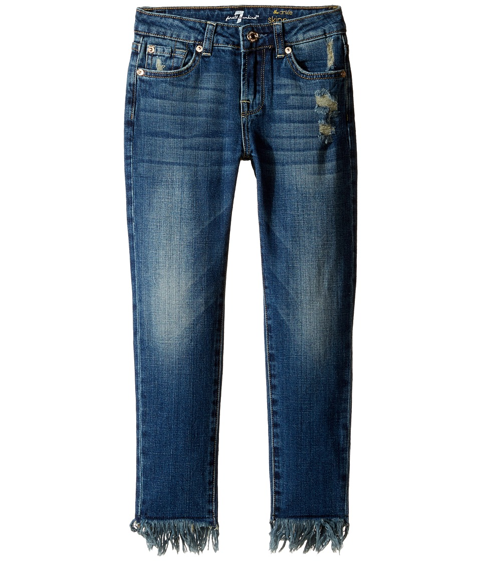 7 For All Mankind Kids - The Ankle Skinny Jeans in Crete Island