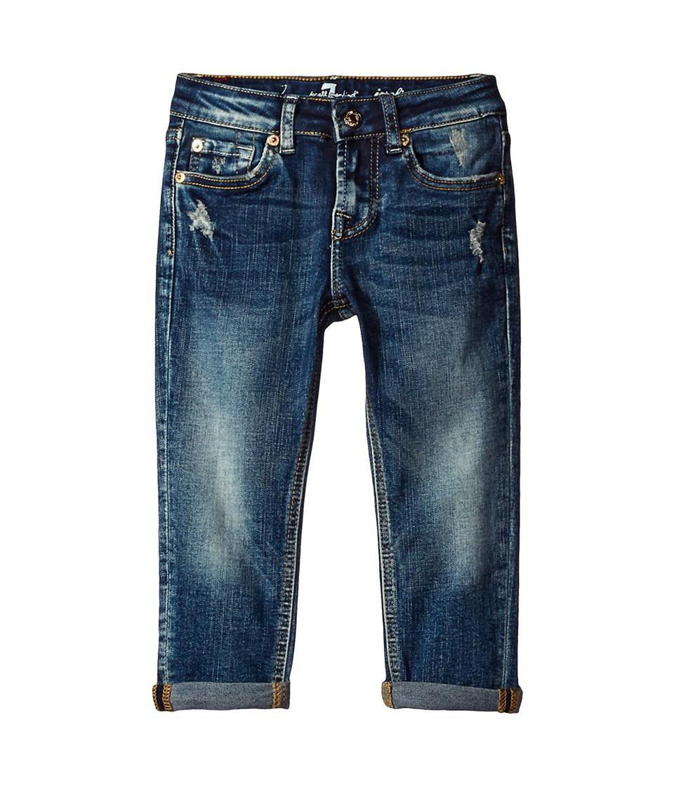 7 For All Mankind Kids - Josefina Boyfriend Jeans in Icelandic Blue