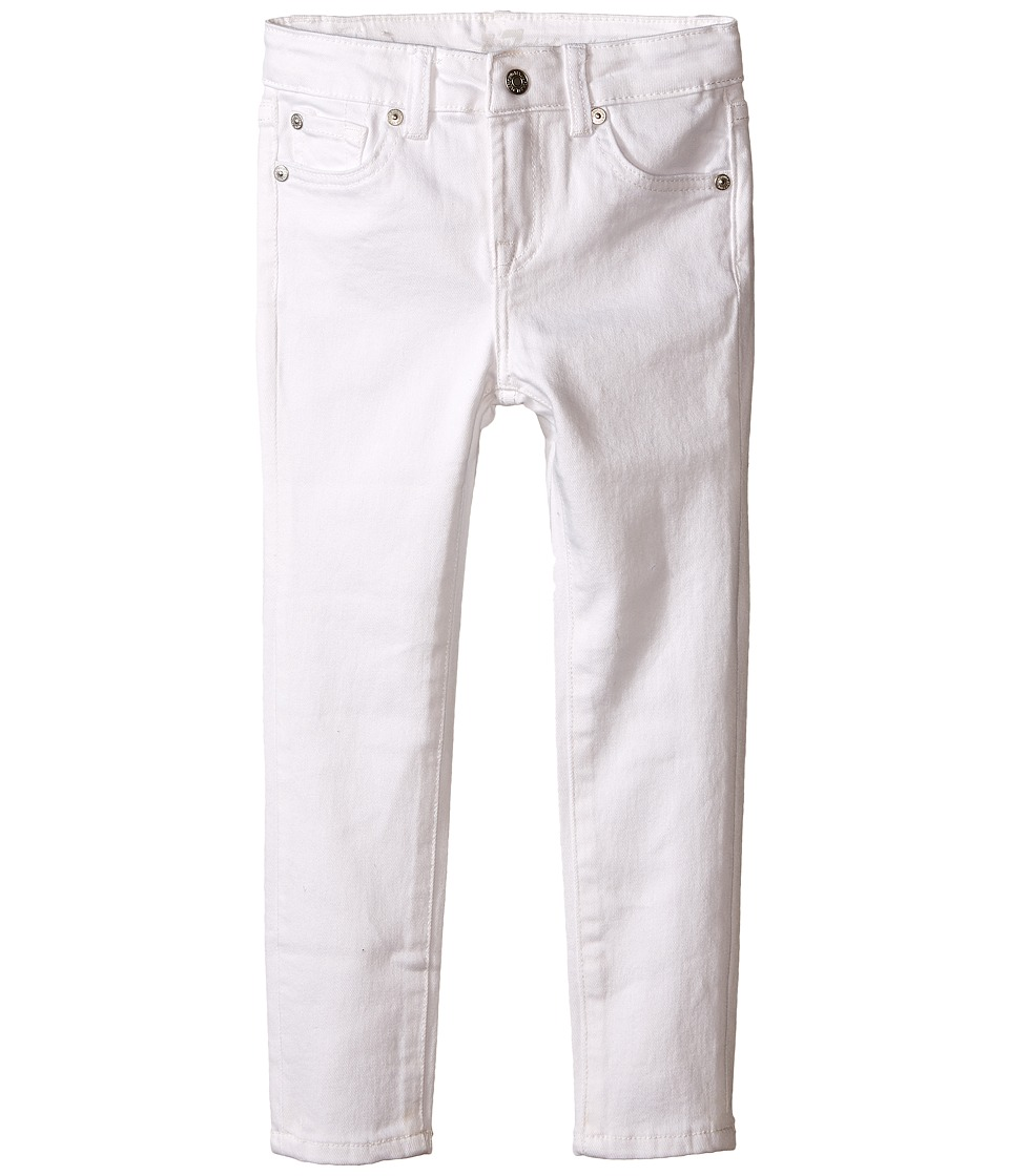 7 For All Mankind Kids - The Skinny Jeans in Clean White