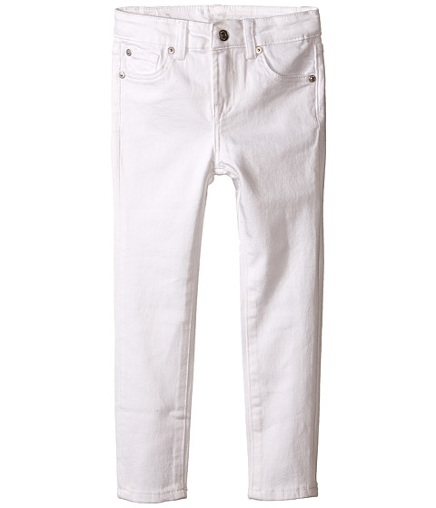 7 For All Mankind Kids The Skinny Jeans in Clean White (Toddler ...