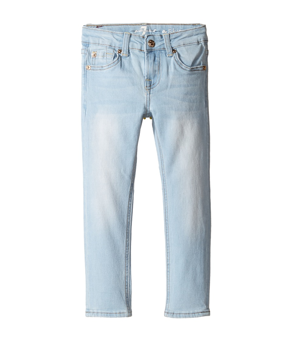 7 For All Mankind Kids - The Skinny Jeans in Daylight Blue