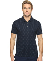 Perry Ellis - Micro Print Pima Cotton Polo Shirt