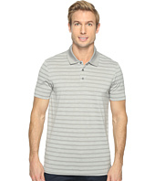 Perry Ellis - Heathered Stripe Jersey Polo Shirt
