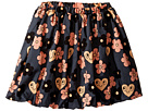 mini rodini Flowers Woven Skirt (Toddler/Little Kids/Big Kids)