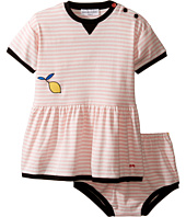 Sonia Rykiel Kids - Short Sleeve Striped Dress w/ Matching Diaper Cover (Infant)