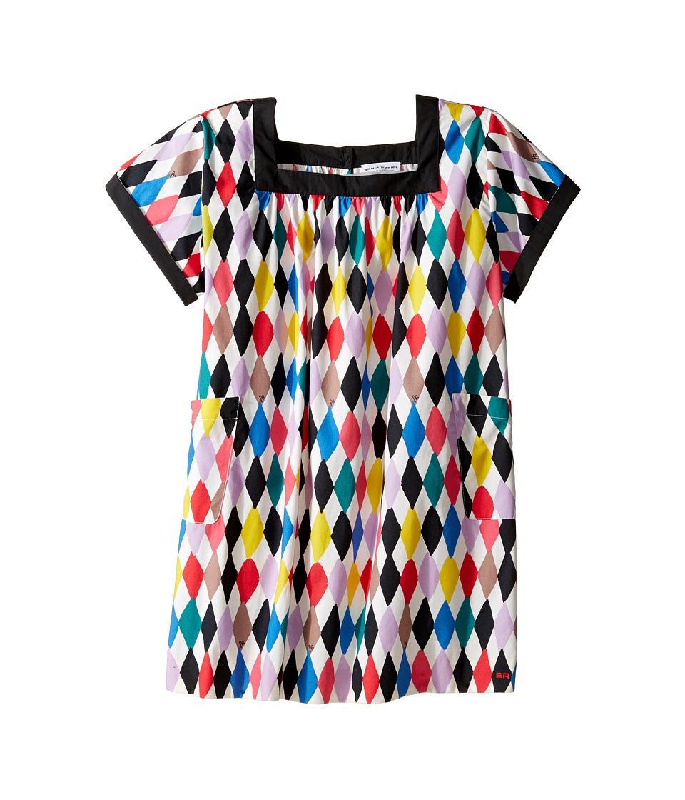 Sonia Rykiel Kids - Harlequin Printed Short Sleeve A