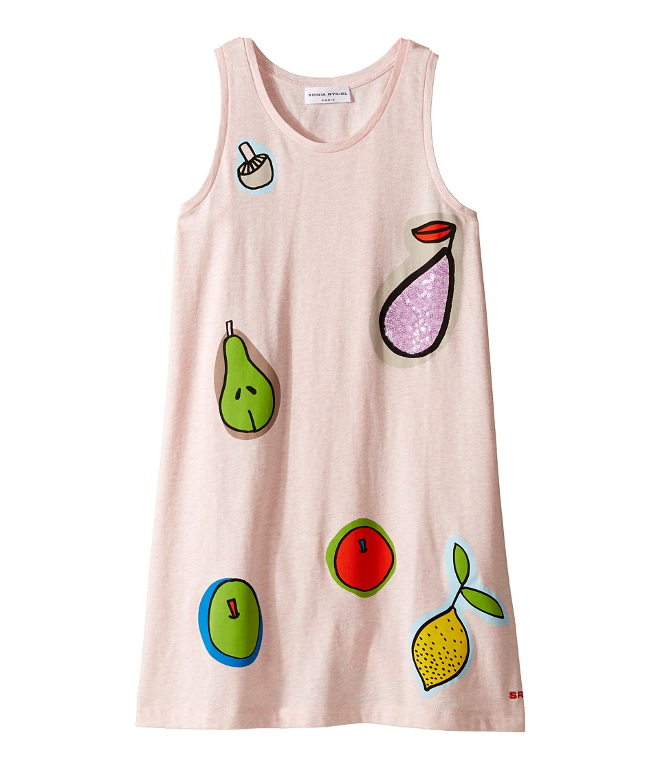 Sonia Rykiel Kids - Sleeveless Dress w/ Fruit Design On Front