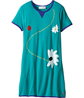 Sonia Rykiel Kids - Short Sleeve Dress w/ Flower Design On Front (Big Kids)