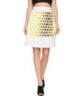 Kitty Joseph - Polka Dot Pleated Skirt