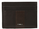 Shinola Detroit Bolt Hardware Five-Pocket Card Case