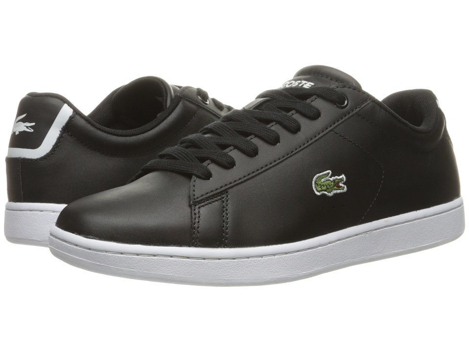 Lacoste Carnaby EVO BL 1 (Black) Women's Shoes