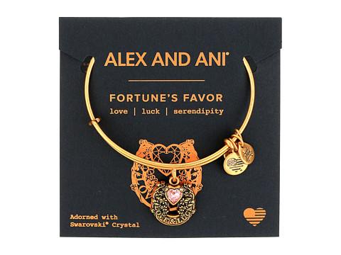 Alex and Ani Path of Symbols - Fortune s Favor Bangle - Rafaelian Gold