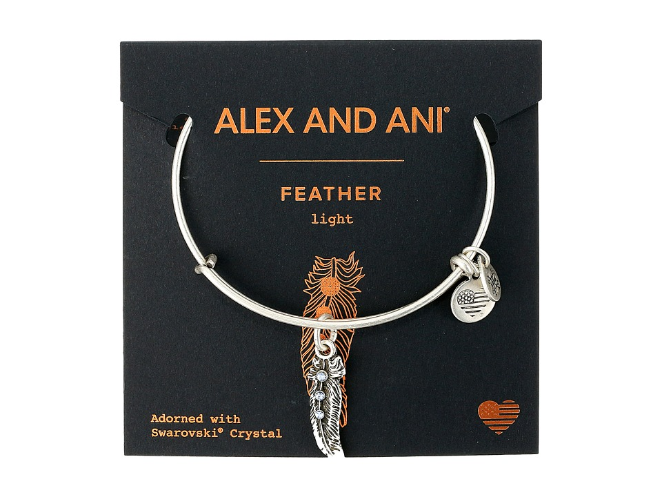 Alex and Ani - Path of Symbols - Feather II Bangle