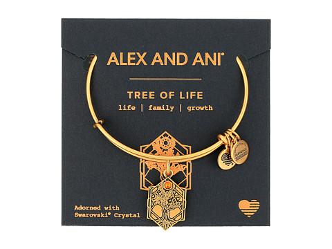 Alex and Ani Path of Symbols - Tree of Life IV Bangle - Rafaelian Gold