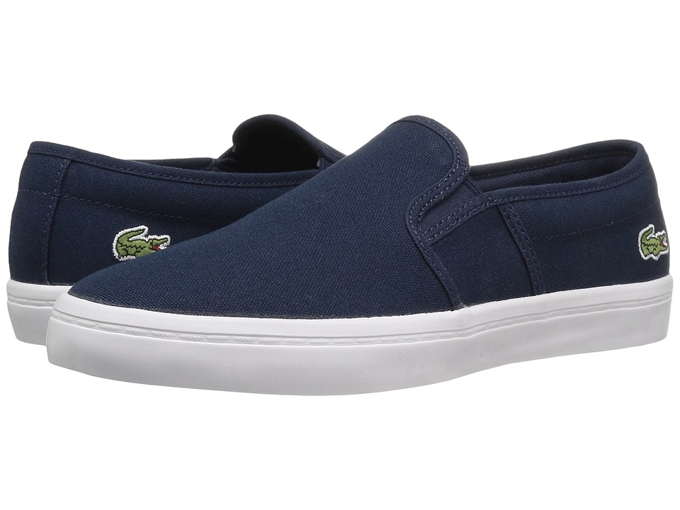 Lacoste Gazon BL 2 Canvas (Navy) Women