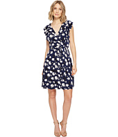 Ivanka Trump - Printed Matte Jersey Dress