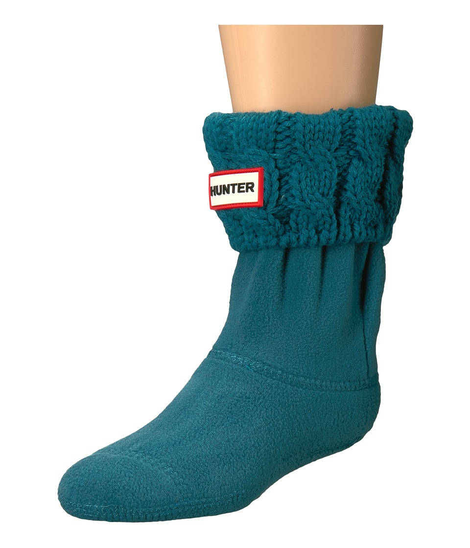 Hunter Kids - 6 Stitch Cable Boot Sock
