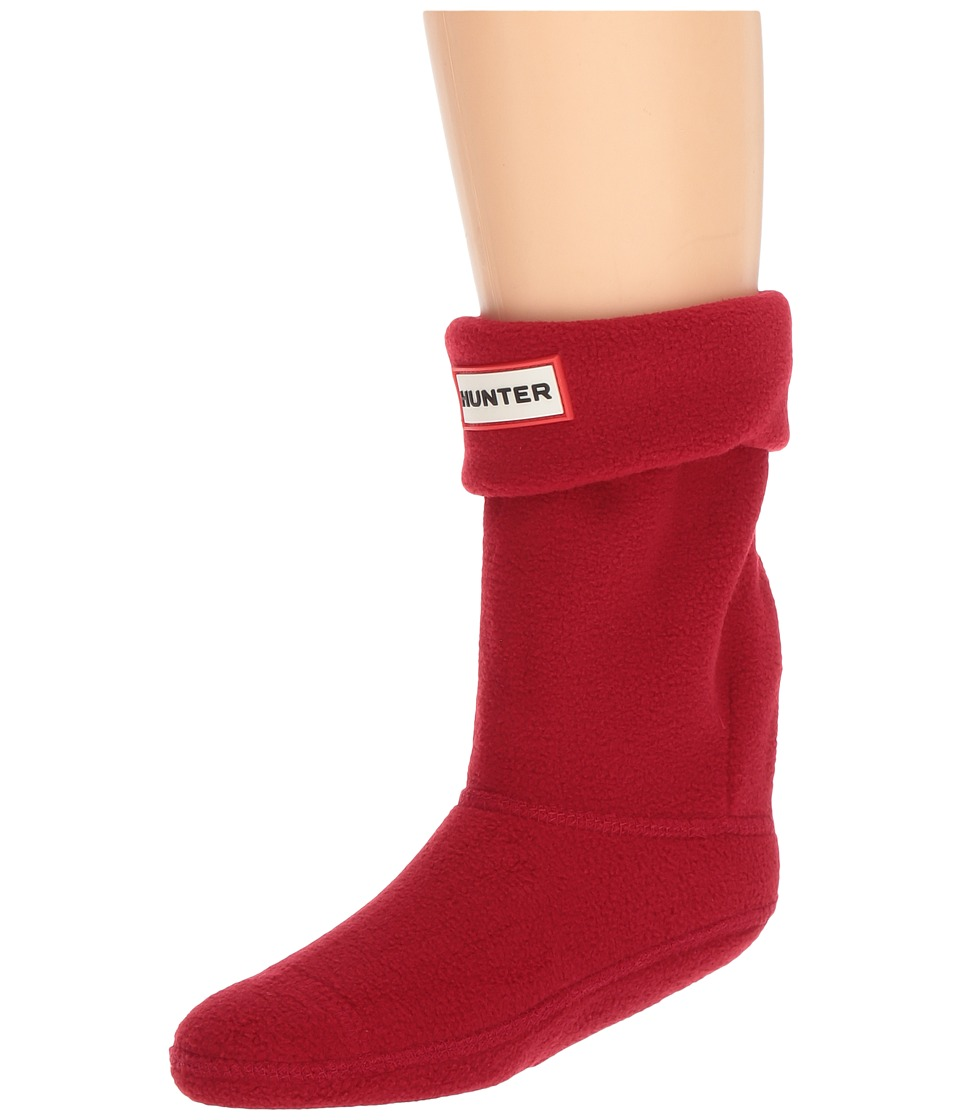 Hunter Kids - Original Boot Sock (Toddler/Little Kid/Big Kid) (Military Red) Kids Shoes