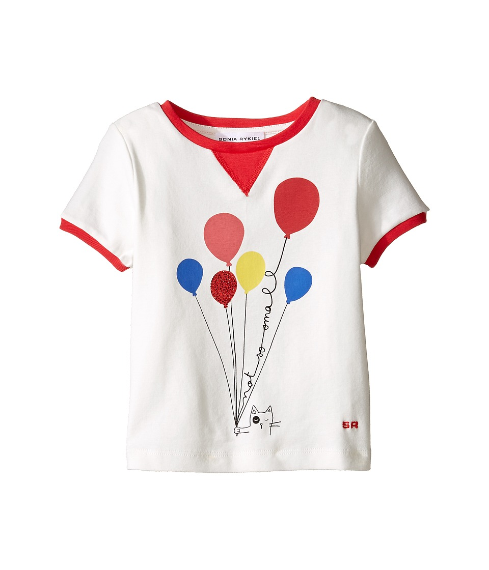 Sonia Rykiel Kids - Short Sleeve Balloon Graphic T