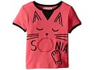 Sonia Rykiel Kids - Short Sleeve Cat Graphic T-Shirt (Toddler/Little Kids)