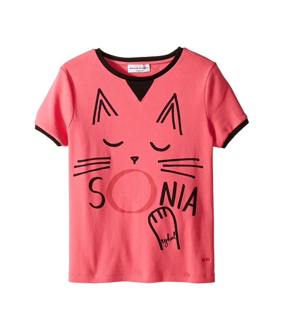 Sonia Rykiel Kids - Short Sleeve Cat Graphic T