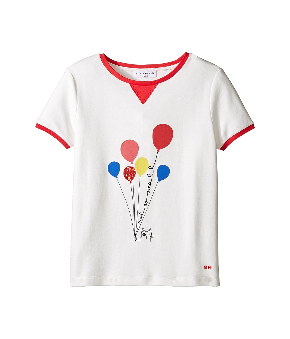 Sonia Rykiel Kids - Short Sleeve Balloon Graphic T