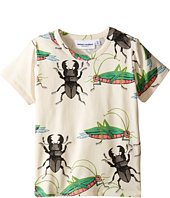 mini rodini - Insects Short Sleeve Tee (Infant/Toddler/Little Kids/Big Kids)