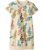 mini rodini - Clef Sweat Dress (Infant/Toddler/Little Kids/Big Kids)